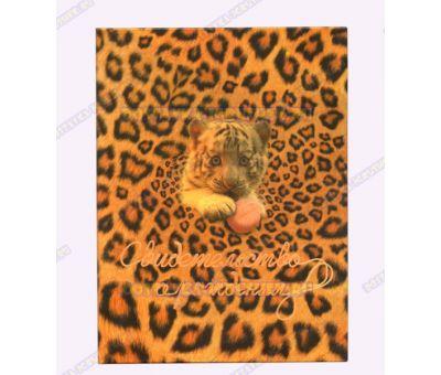 Обложка 'Свидетельство о рождении 192х263' Тигрёнок. Бумага, пластик.