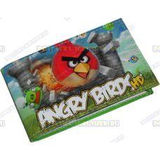 """Визитница-кардхолдер """"Angry Birds HD"""" текстиль."""