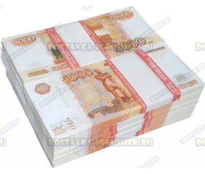 Деньги банка приколов 5000р. (10 пачек)