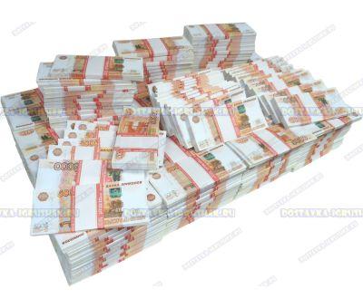 Деньги банка приколов 5000р. (300 пачек)