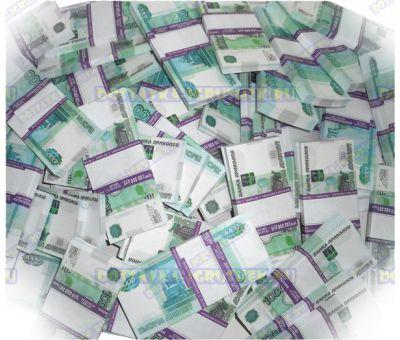 Деньги банка приколов 1000р. (300 пачек)