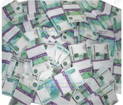 Деньги банка приколов 1000р. (500 пачек)