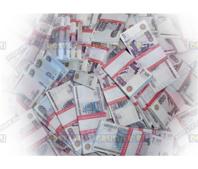Деньги банка приколов 500 р. (300 пачек)