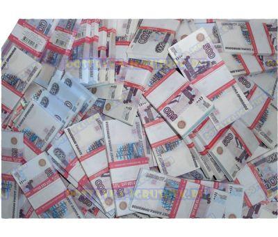 Деньги банка приколов 500 р. (500 пачек)