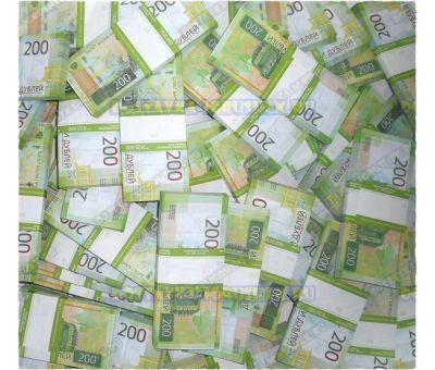 Деньги банка приколов 200 р. (500 пачек)
