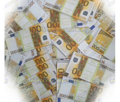Деньги банка приколов 200 евро. (300 пачек)