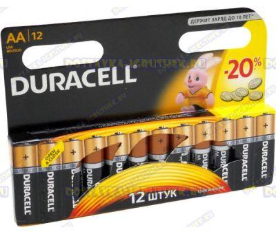 Батарейка DURACELL LR6/MN1500 пальч.(АА) 12шт.