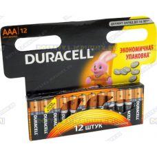 Батарейка DURACELL LR03/MN2400 мизинч.(ААА) 12шт.