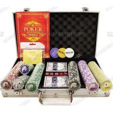 Покерный набор 'Чемодан' 300 фишек.
