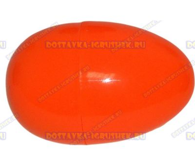 "Жвачка для рук ""Оранжевая ~20гр."" ~6см. пласт.яйцо."