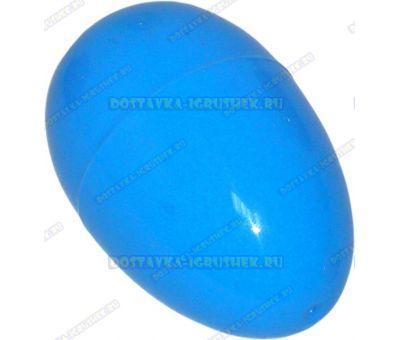 "Жвачка для рук ""Синяя ~20гр."" ~6см. пласт.яйцо."
