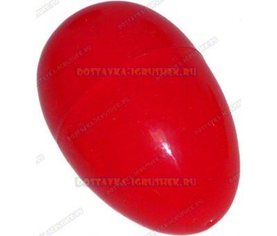 """Жвачка для рук """"Красная ~20гр."""" ~6см. пласт.яйцо."""