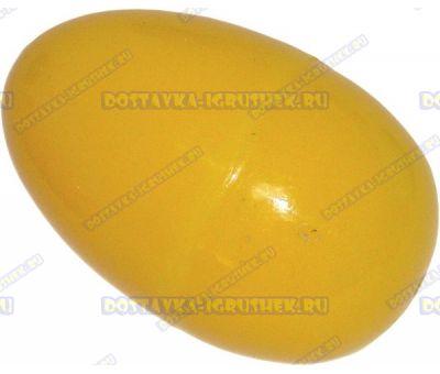 """Жвачка для рук """"Желтая ~20гр."""" ~6см. пласт.яйцо."""