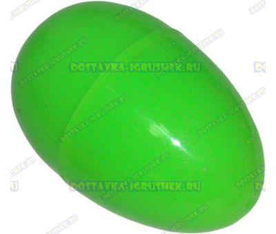 """Жвачка для рук """"Зелёная ~20гр."""" ~6см. пласт.яйцо."""