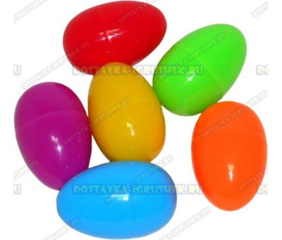 "Жвачка для рук ""6 шт. по ~20гр."" ~6см. пласт.яйцо."