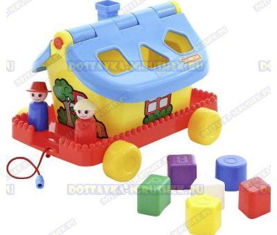 Садовый домик на колёсиках (в сеточке)