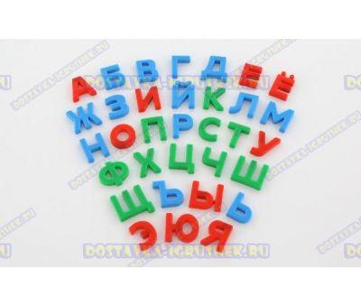 """Набор """"Первые уроки"""" на магнитах (33 буквы) (в пакете)"""