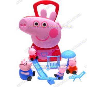 Игровая площадка Свинки Пеппы в сумочке.