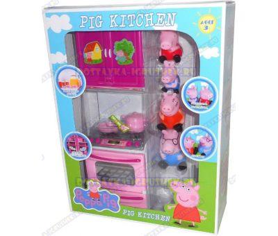 Кухня Свинки Пеппы + 4 фигурки.