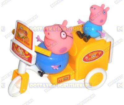 Набор 'Служба доставки Свинки Пеппы' +2 фигурки №1.