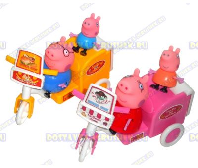 Комплект 'Служба доставки Свинки Пеппы' +4 фигурки.