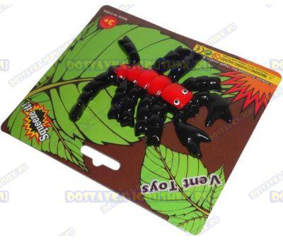 Лизун Vent Toys 'Скорпион' красный, ~13см.