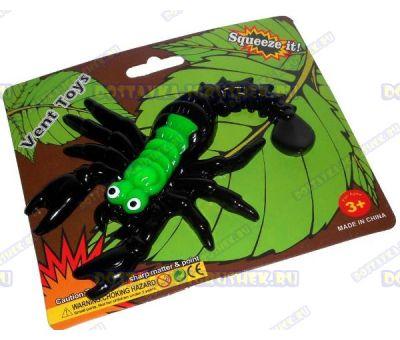 Лизун Vent Toys 'Скорпион' зелёный, ~15,5см.