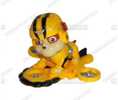 Набор 'Летающий патруль' щенок Руби. Фигурка и значок (пластик).