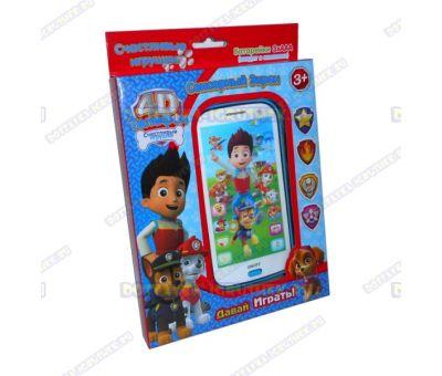 Детский телефон 'Щенячий патруль'. Батарейки в подарок!!!