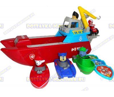 Корабль спасателей, Райдер 3 героя с лодками.