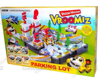 Большая парковка Врумиз +4 машинки.