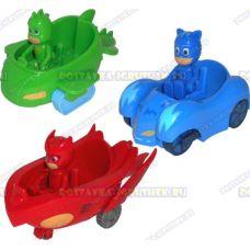 Набор 'Герои в масках' 3 фигурки и 3 машины.