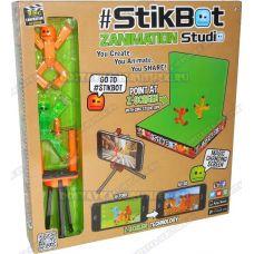 Стикбот (Stikbot) студия (штатив, сцена +2 фигурки).