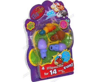 Набор FlipaZoo 4 шт. Блистер.