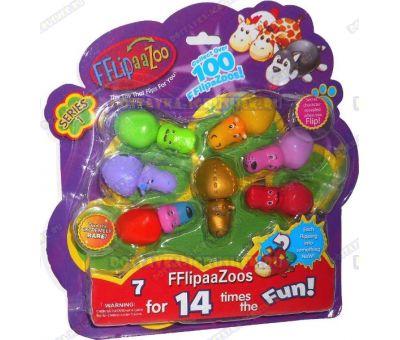 Набор FlipaZoo 7 шт. Блистер.