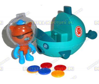 Набор 'Октонавты - подводная лодка РЫБКА' + герой и сокровища (монеты)!