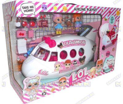 Большой самолёт L.O.L. +3 фигурки и аксессуары