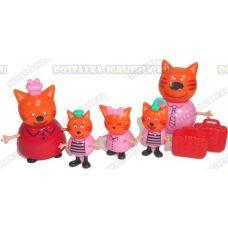 "Набор ""Три кота. 5 фигурок ~5-8см."""